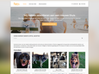 Pets.be Homepage