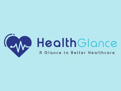 Health Glance Logo Design