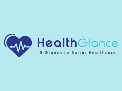 Health Glance Logo Design branding agency brand design identity branding creative idea inspiration logodesign glance health