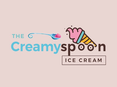 The Creamy Spoon - Logo Design