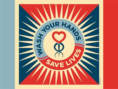 SOAP quarantine uk design illustration illustrator shepard fairey wash your hands soap