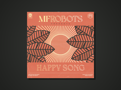 MF Robots single artwork Happy Song