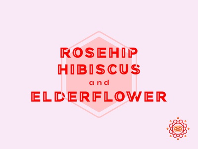 Fitch Brew Co. sparkling tea rosehip hibiscus & elderflower