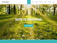 Altea - One Page WordPress theme