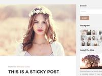 Paperhouse WordPress Blog theme