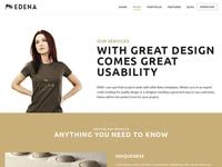 Edena WordPress - About Page
