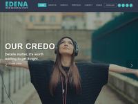 New Demo for Edena WordPress theme