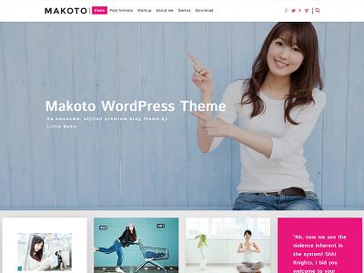 Makoto demo 2 webdesign theme wordpress theme