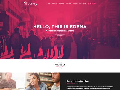 Edena One Page Demo