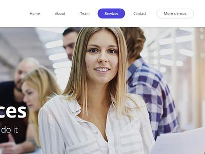 Ohmy WordPress theme Agency Demo envato themeforest little neko web design business theme ux ui wordpress