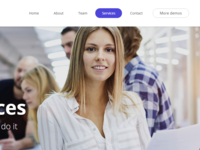 Ohmy WordPress theme Agency Demo