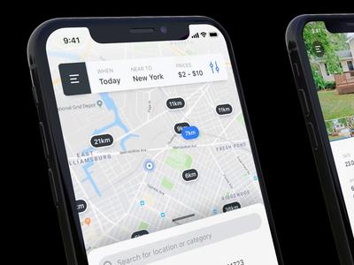 Garage sales - mobile application