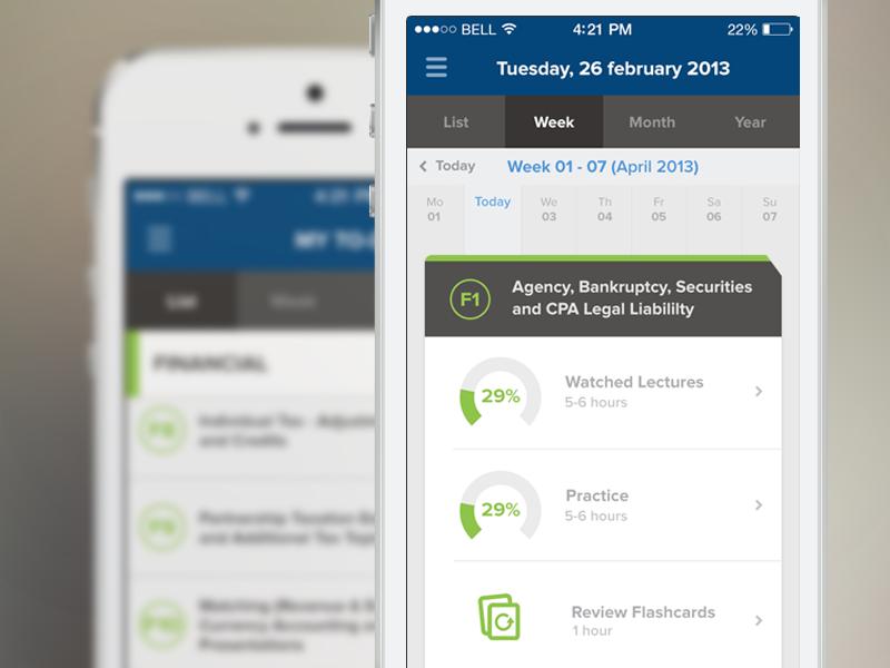 Becker CPA - iOS becker cpa iphone app study