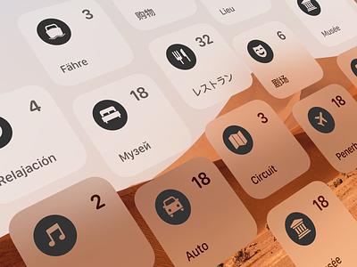 Tripsy Languages icons app trip translate languages