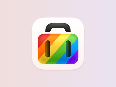 Tripsy Pride Icon pride app icon ios