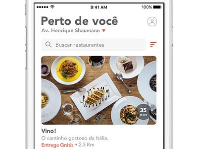 SpoonRocket  app ios brazil delivery food spoonrocket