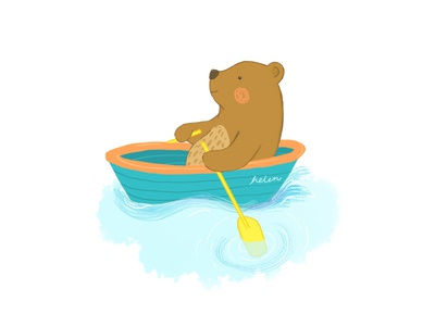 Bear Rowing