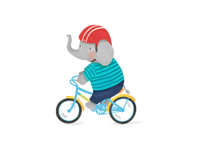 Elephant bike ride!