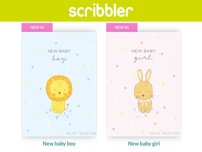 New baby card collection