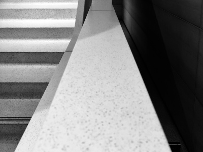 Just a stairwell. iphone design stairway black and white black  white photography architectural design