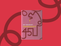 Fahrenheit 451 Book Cover Design