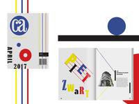 Communication Arts Magazine ft. Piet Zwart