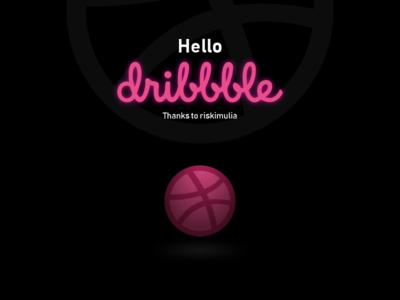 Hello dribbble people
