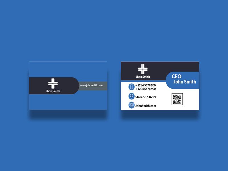 business card 2 card busines card brand logo branding design business card