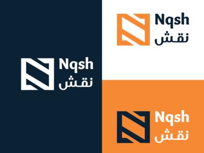 Ngsh logo logotype logo design logodesign brochure poster card business card busines card photoshop brand logo branding design