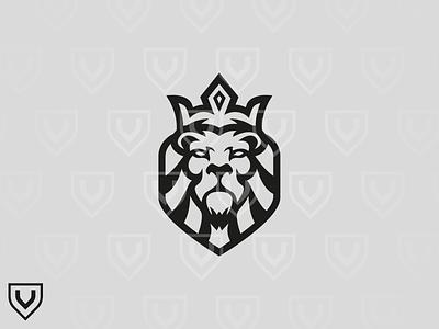 Lion King lion king lion esports illustration design premade mascot logo