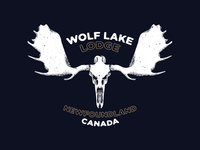 Wolf Lake Lodge Logo Proposal