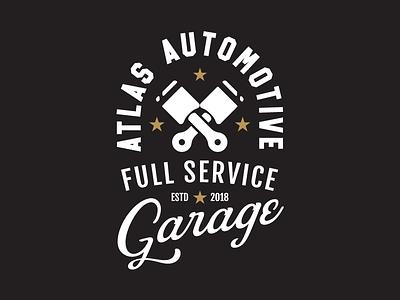 Shirt design for a friends cool Car Shop apparel shirt service truck piston shop auto car