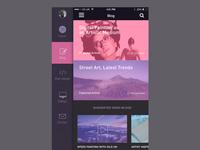 iPhone Portfolio App Concept