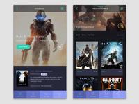 Video Game App UI/UX