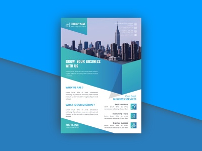 Elegant Corporate Business Flyer corporate corporate flyer blue gradient elegant flyer design business marketing agent consultant professional creative modern technology psd vector multipurpose flyer template ai editable