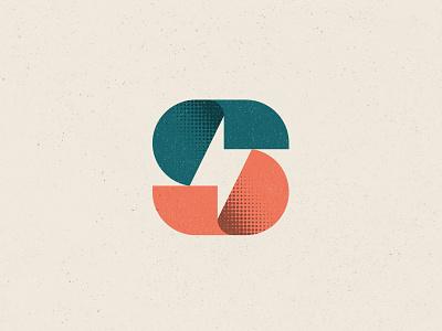 SuperPower Logo letter s s bolt power unipen vector logotype logo design branding icon logo