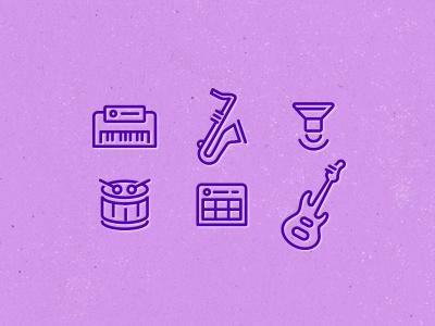 Beatwave app. icons