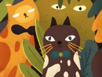 猫和朋友闷