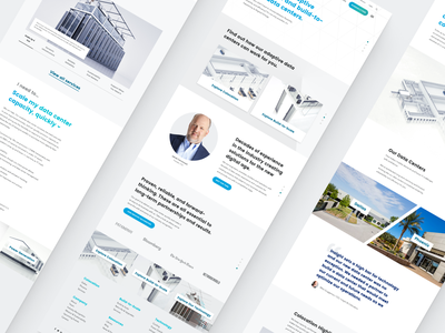 Aligned Energy Concepts web website landing page marketing site