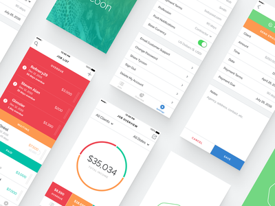Tycoon Concepts mobile app design app mobile ui