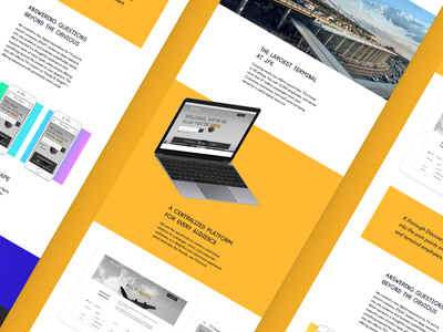 Case Study Concepts web design agency landing page agency website