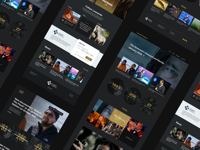 Leo Concepts layout landing page marketing site