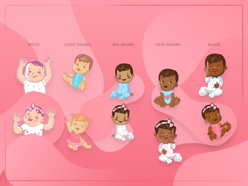 All the Little Babies illustration baby