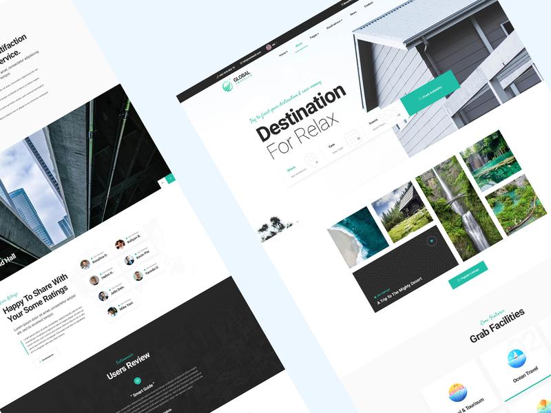 Traveldo Travel Agency Website Design