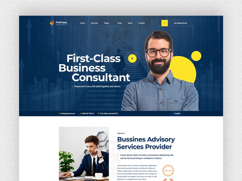 Finance & Consulting Firm Website Design service website services counselling firm consulting firm ux design uidesign service footer website header landingpage ux ui finance app finances financial consulting finance finpress