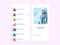 Music App Screen