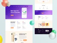 Bilo Mobile App Landing Page