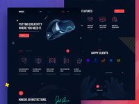 AI / VR / AR Platform & Service Provider Website