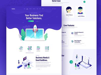 Digital Marketing / SEO / SMM / SEM 2019 2019 trend isometric digital product website header landingpage sem smm seo digital marketing