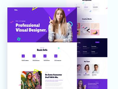 Creative Portfolio / CV / Biodata